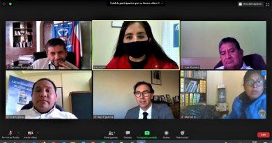 Conectividad y seguridad escolar: Así fue el diálogo del ministro de Educación con los 4 alcaldes de la región