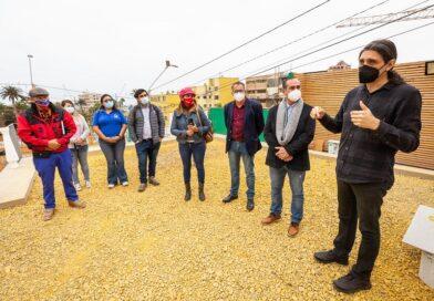 Concejales recorrieron el casco histórico para conocer de cerca los proyectos emblemáticos de Revive Barrios
