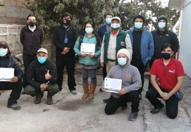Primer sello entrega CONAF a adherentes a la sostenibilidad de la Reserva de Biosfera Lauca