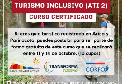 Dictarán curso certificado de guiado para un turismo inclusivo